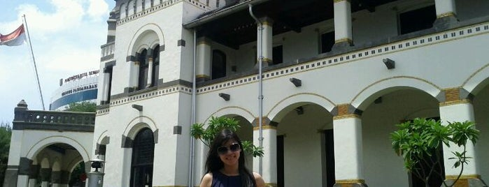 Lawang Sewu is one of Semarang Spots.