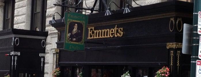 Emmet's Irish Pub is one of Must-visit Food in Boston.