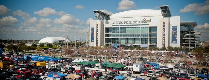 NRG Stadium is one of Mayors.