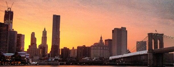 Brooklyn Bridge Park - Pier 1 is one of NYC I see.