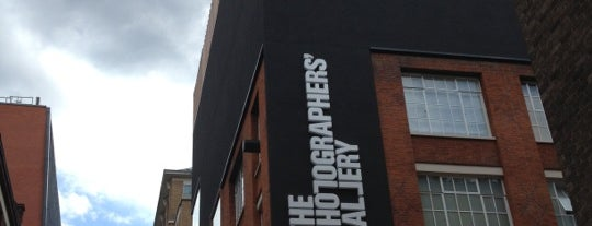 Photographers' Gallery is one of #OURLDN - W1.