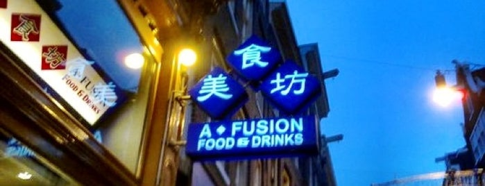 A-Fusion is one of My Favorite Restaurants.