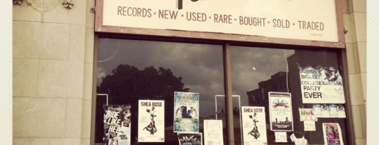Looney Tunes Records is one of Bin Flipping: Record Shops #vinyl.