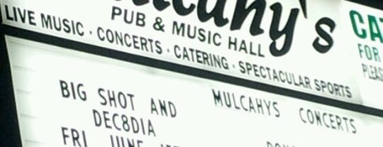 Mulcahy's Pub & Concert Hall is one of been here.
