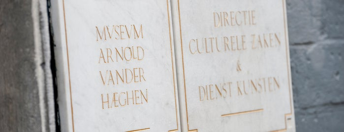 Museum Arnold Vander Haeghen is one of To-Do in Ghent.