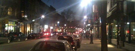 Boulevard Saint-Laurent is one of montreal.