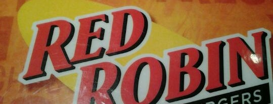 Red Robin Gourmet Burgers is one of Work Lunch Locations.