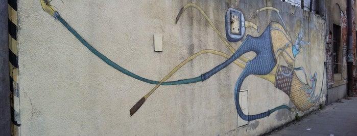 Mikołaj Rejs is one of Street Art w Krakowie: Graffiti, Murale, KResKi.