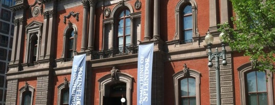 Renwick Gallery is one of The Arts in DC.