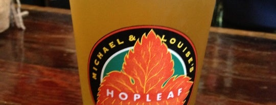 Hopleaf Bar is one of Where to Eat, Drink and Buy Local in Andersonville.