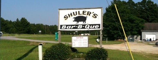 Shuler's BBQ is one of South Carolina Barbecue Trail - Part 1.