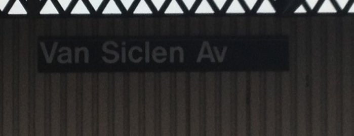 MTA Subway - Van Siclen Ave (3) is one of NYC Subways 4/5/6.