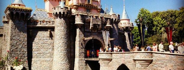 Sleeping Beauty Castle is one of Disneyland.