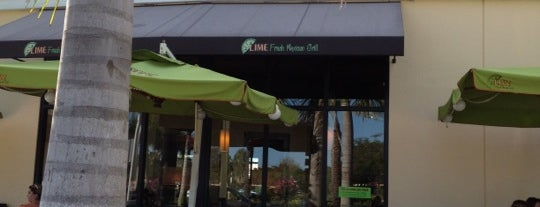 Lime Fresh Grill is one of Peewee's Big Ass South Florida Food Adventure!.