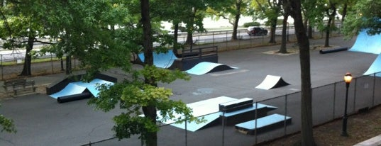 Riverside Skate Park is one of NYC's Skate Parks.