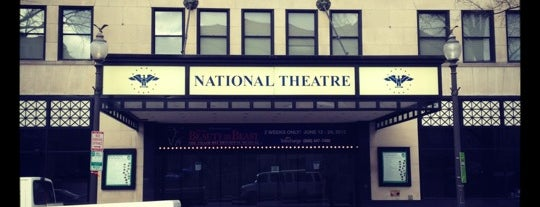 The National Theatre is one of Washington, DC.