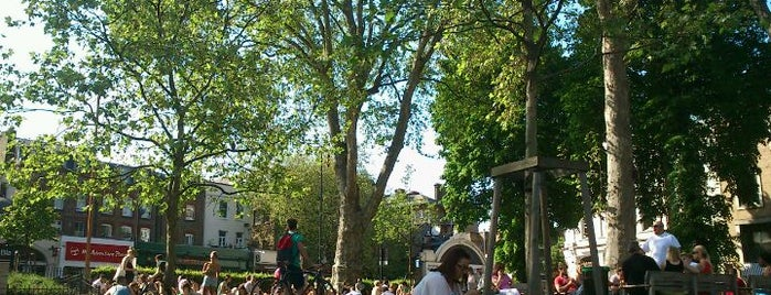 Islington Green is one of Must-visit Great Outdoors in London.