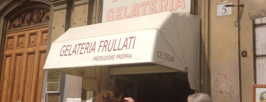 Gelateria Old Bridge is one of Worldwide favorites.
