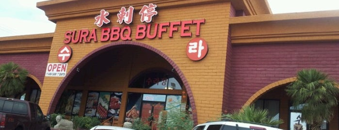 Sura B.B.Q Buffet is one of A local's guide: 48 hours in Las Vegas, NV.