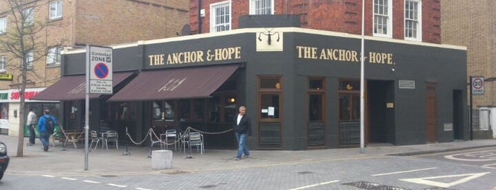 The Anchor & Hope is one of Piehunter Recommends.
