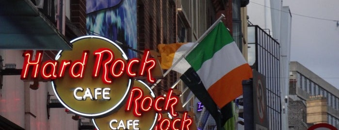 Hard Rock Cafe Dublin is one of HARD ROCK CAFE'S.