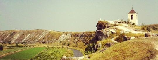 Orheiul Vechi is one of Exploring Moldova.