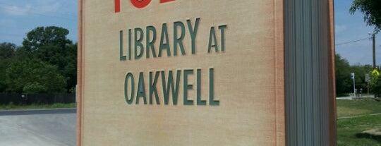 Tobin Library at Oakwell is one of Ya es hora-Libera Tu Voz.