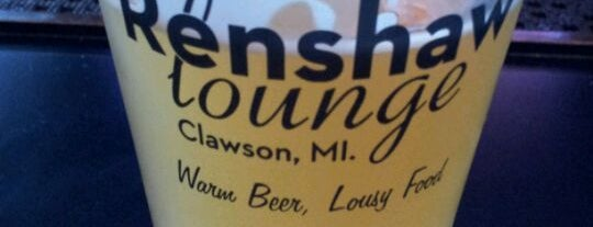 Renshaw Lounge is one of Favorites.