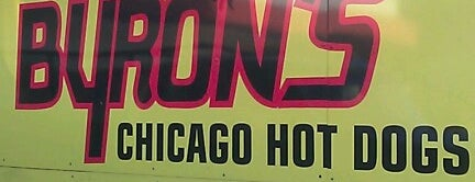 Byron's Hot Dogs is one of common places.