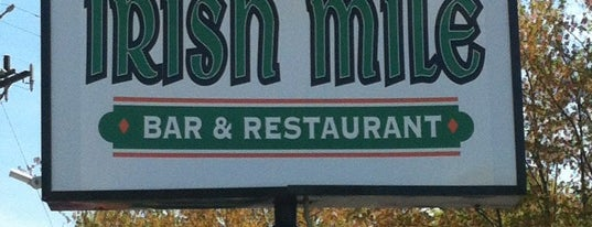 The Irish Mile is one of MLS Pubs in Philadelphia.