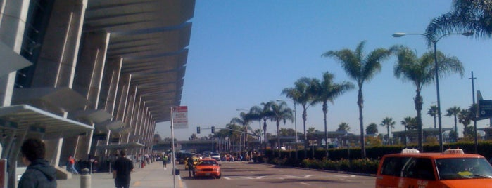 San Diego International Airport (SAN) is one of Airports.