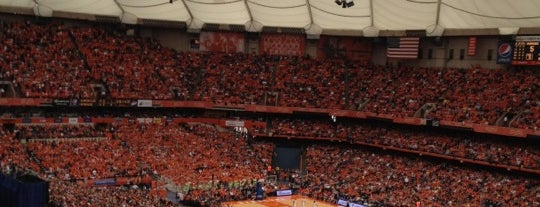 Carrier Dome is one of Best Stadiums.