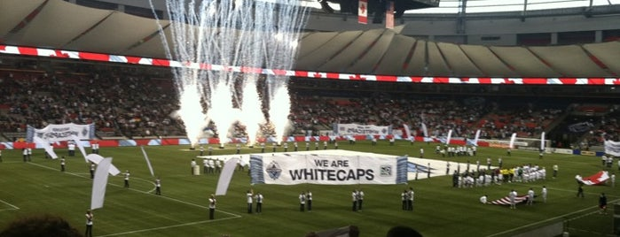 BC Place is one of Badges | Partners type.