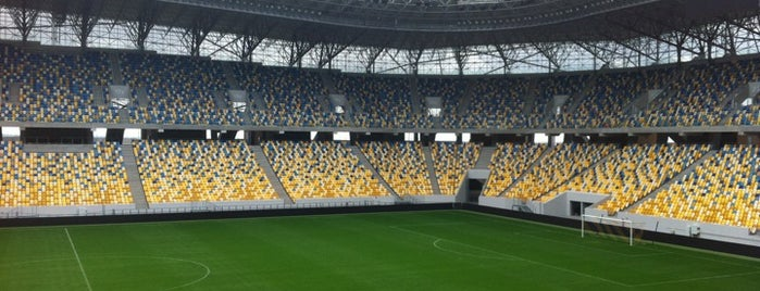 Arena Lviv is one of Best Stadiums.