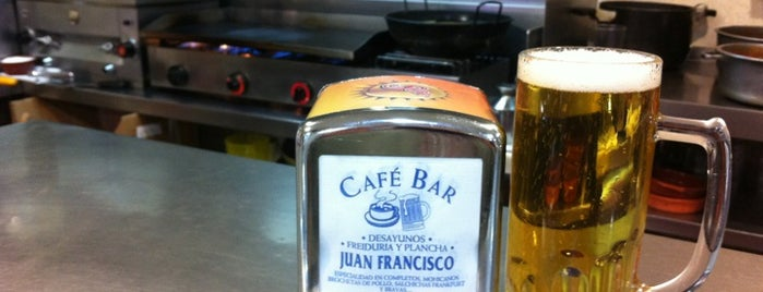 Café Bar Juan Francisco (Juanfran) is one of Almería Tapas.