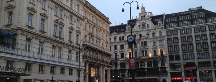 Donnerbrunnen is one of StorefrontSticker #4sqCities: Vienna.