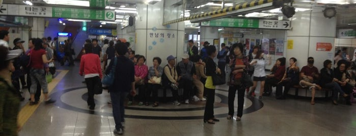 Seoul Nat'l Univ. Stn. is one of 10,000+ check-in venues in S.Korea.