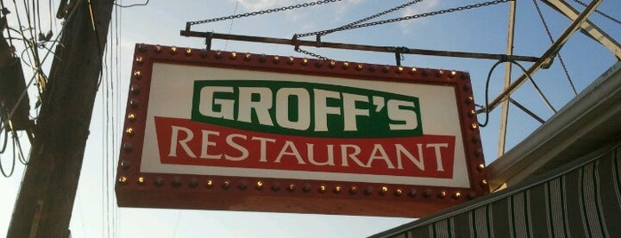 Groff's is one of Favorite Food.