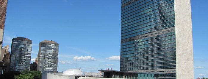 United Nations is one of NYC I see.