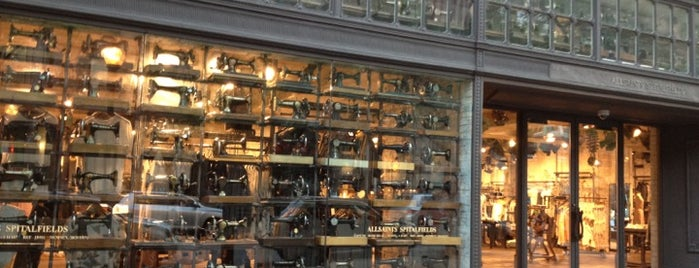 AllSaints is one of Must-visit Clothing Stores in Boston.