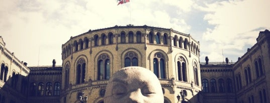 Stortinget is one of Oslo City Badge - Kollen Roar.