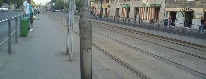 Béke tér (14) is one of Pesti villamosmegállók.