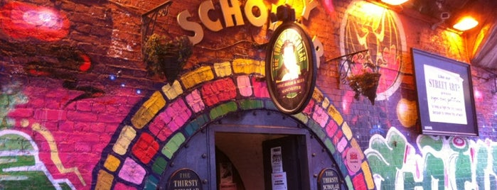 The Thirsty Scholar is one of Manchester alphabet pub crawl.