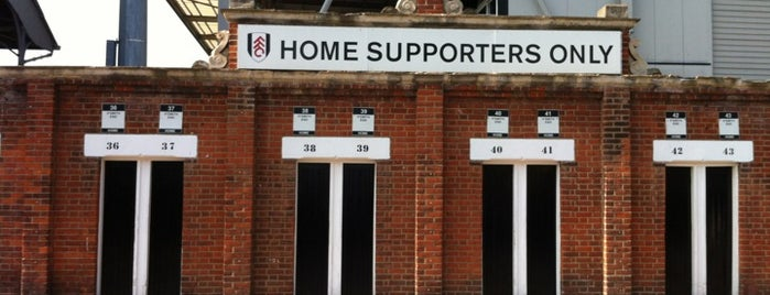 Craven Cottage is one of Favorite Places in the World.
