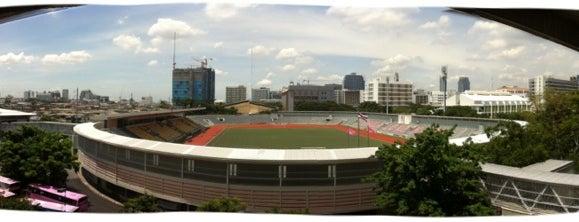 Chulalongkorn University Stadium is one of Chulalongkorn University.