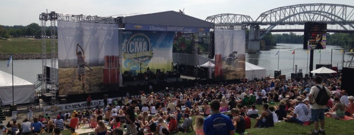 Chevrolet Riverfront Stage is one of To Do: Nashville.