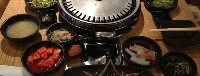 miss KOREA BBQ is one of restaurants.