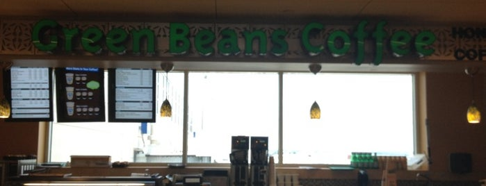 Green Beans Coffee - San Antonio Int'l Airport is one of Food.