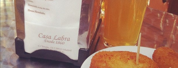 Casa Labra is one of All-time favorites in Spain.