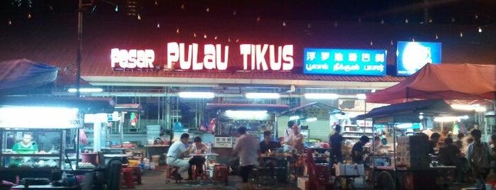 Pulau Tikus Market Hawker Stalls is one of jane.